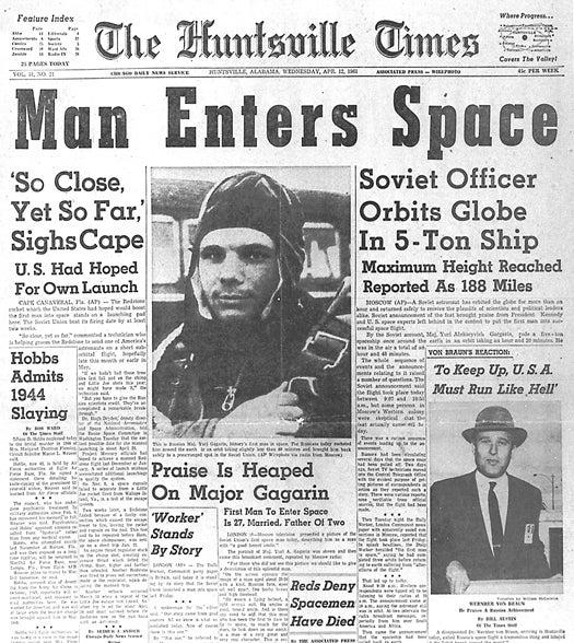 The Secrets of Yuri Gagarin, Fifty Years Later