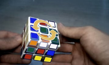 Solve A Rubik's Cube With Augmented Reality