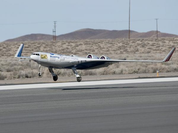 NASA's Hybrid Wing Drone Soars on First Flight Tests
