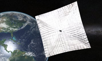 Bill Nye's Solar Sail Hits A Few Snags But Is Almost Ready To Fly