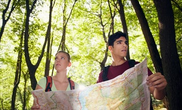 How to find your way out of the woods without tools—or your phone