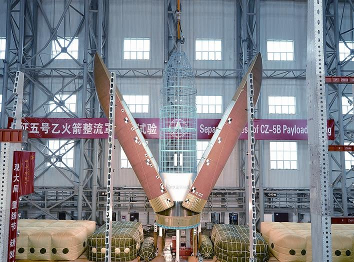 LM-5 CZ-5 Long March 5 rocket payload