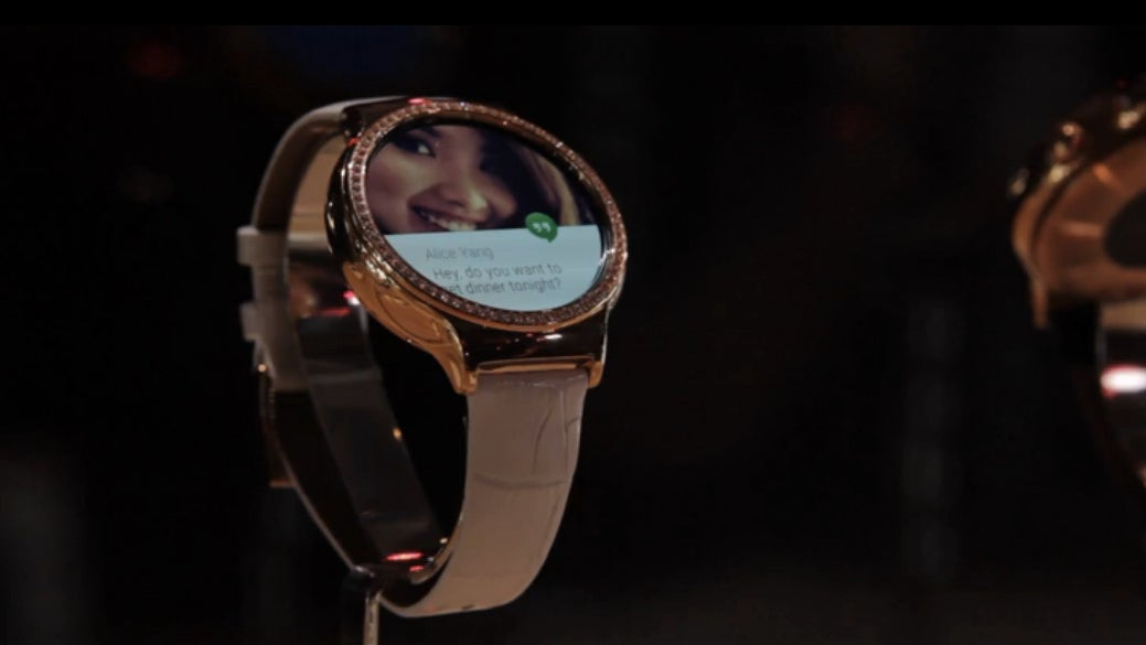 Huawei's New Smartwatches For Women 'Jewel' and 'Elegant' At CES 2016