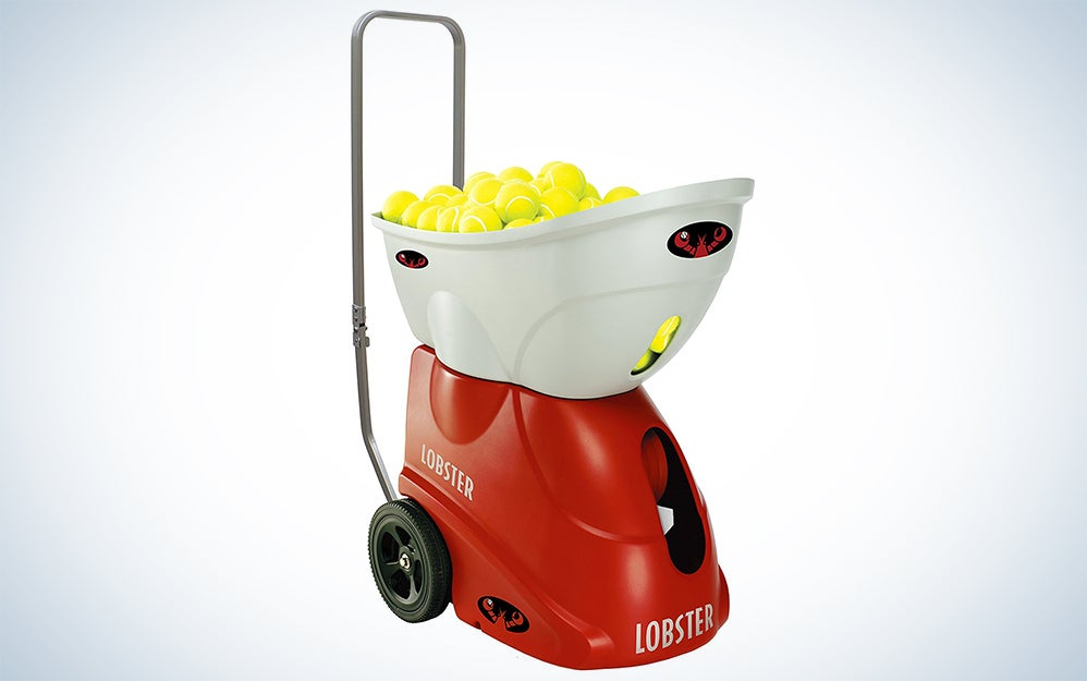Lobster Sports Elite Two tennis ball launcher