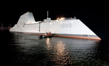 America's Most Futuristic Warship Is Boldly Going Out To Sea