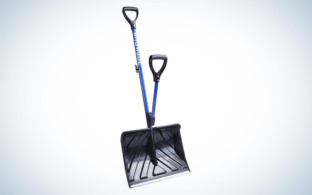 Snow Joe ergonomic shovel