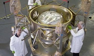 A Lunar Rocket Designed To Crash