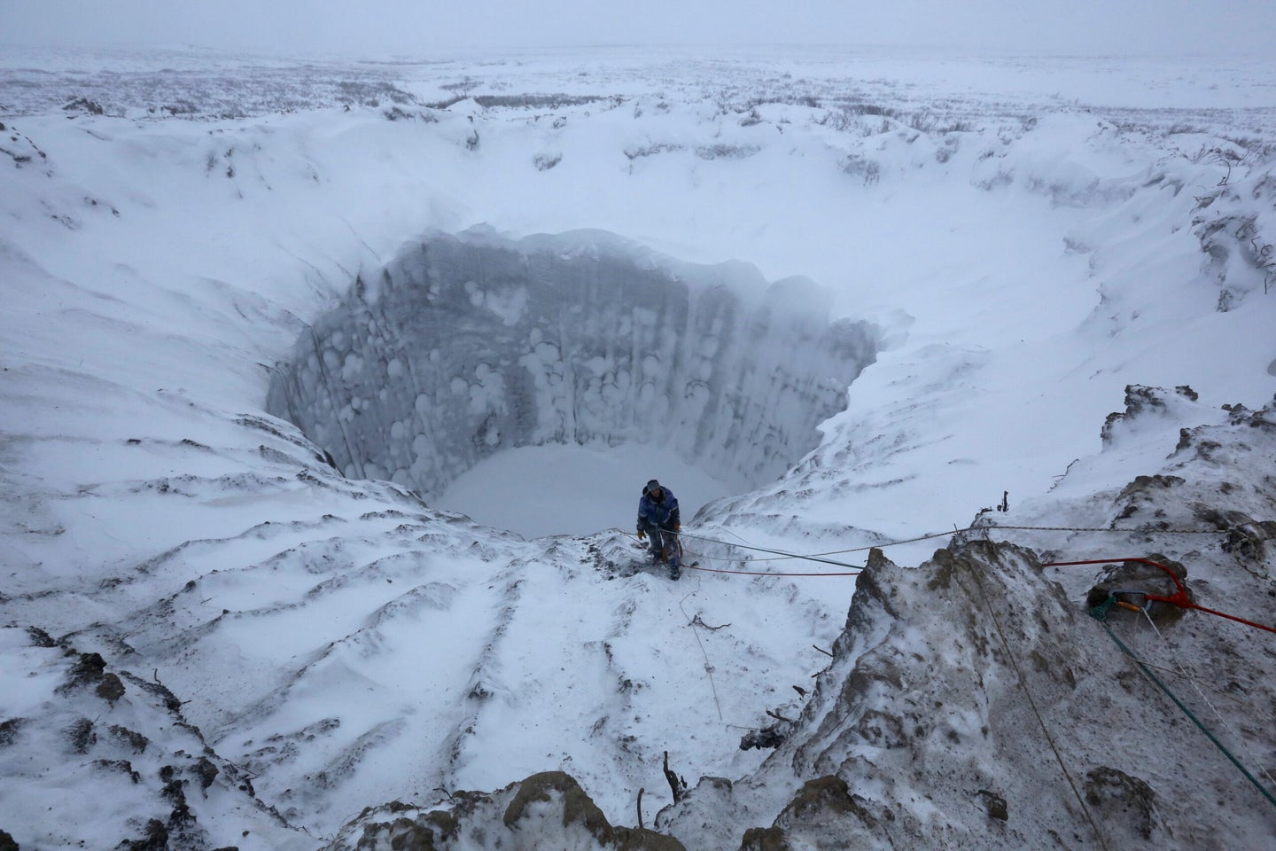 New Mysterious Craters Found In Siberia