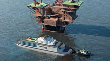 China Floating Nuclear Reactor ACPR50