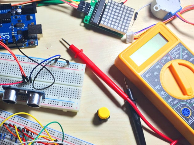 This course helps you master your Arduino through 15 awesome projects