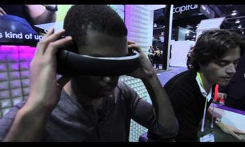 Glyph Virtual Reality Headphones At CES 2016