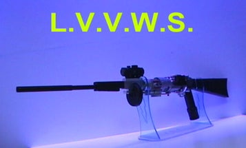 A Variable Velocity Rifle That Puts the 'Less' in 'Less-Lethal'