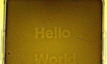 """""""Hello World"""""""