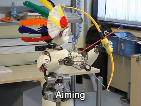 Video: Using New Learning Algorithm, Archer 'Bot Learns How To Aim and Shoot A Bow and Arrow