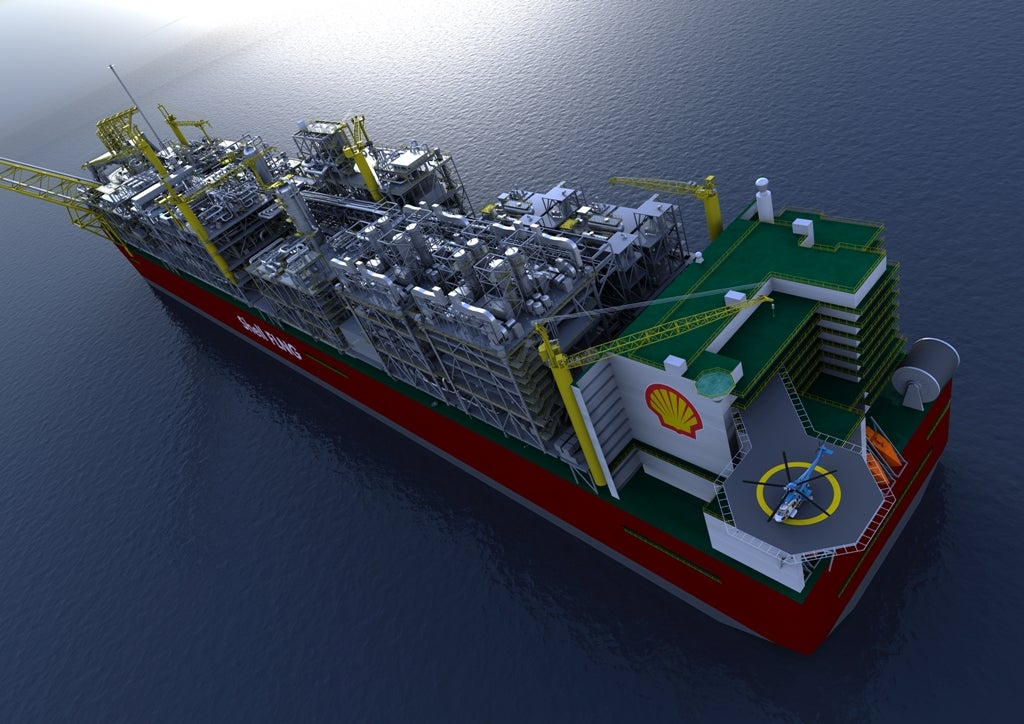 To Harvest Natural Gas From the Ocean, Shell Is Building the World's Largest Man-Made Floating Object