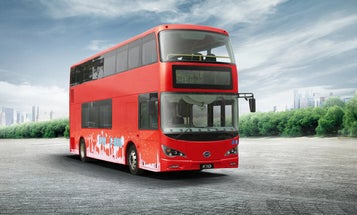 London's Red Double Decker Buses Are Going Green