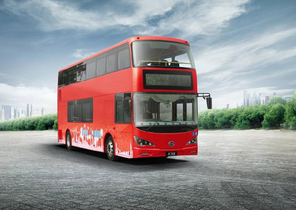 New Double Decker Bus