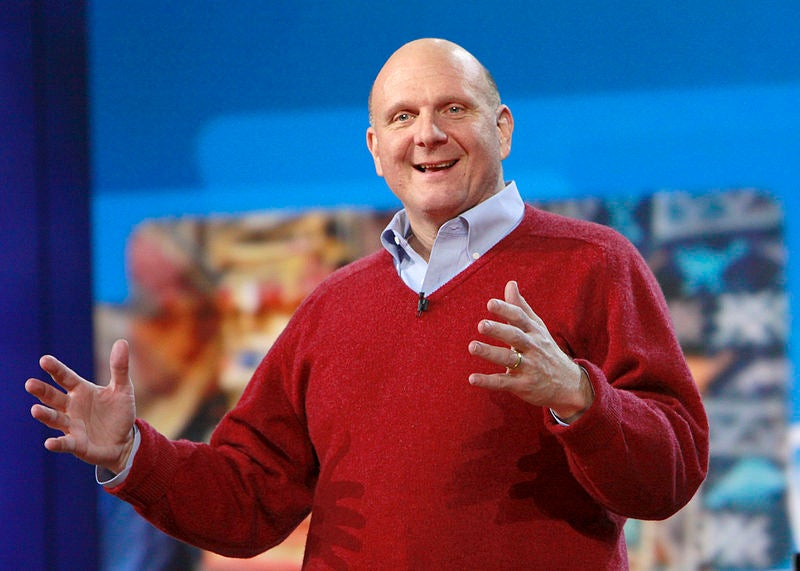 Steve Ballmer Announces He Will Retire As CEO, Microsoft Stock Immediately Shoots Up