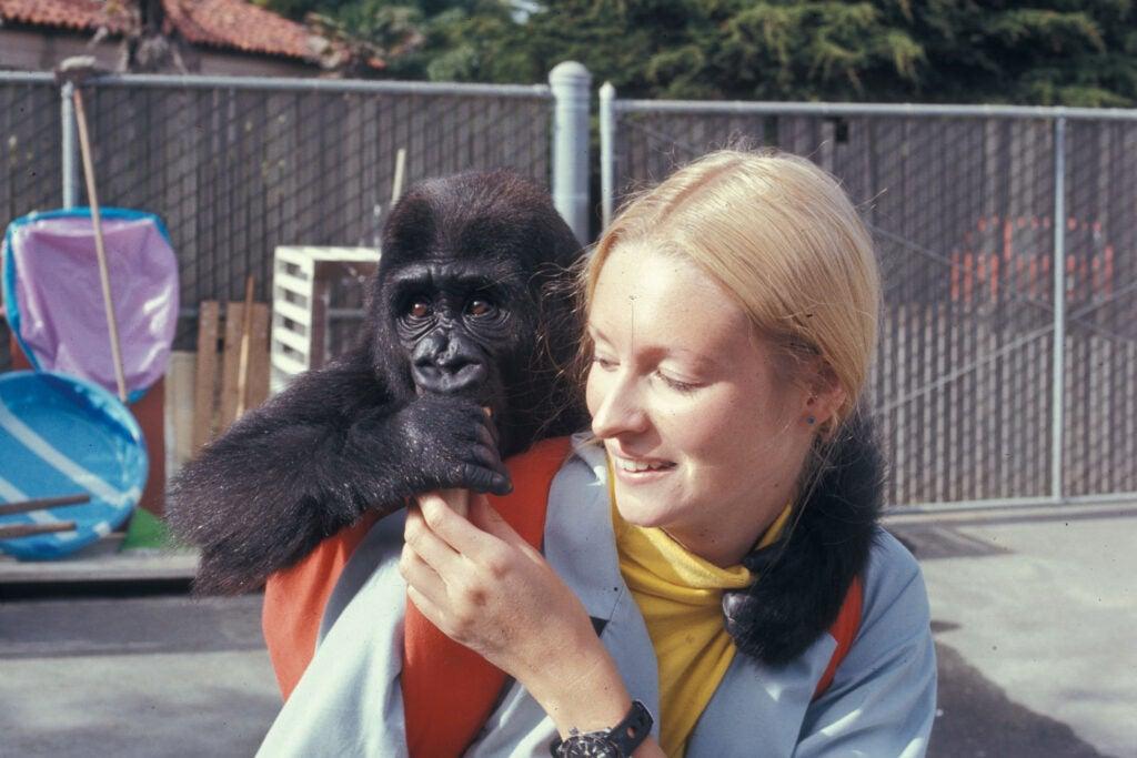 Koko with Penny