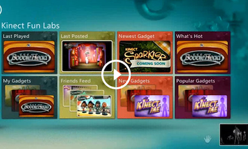 Microsoft Gives the Kinect an App Store and Voice-Controlled Live TV