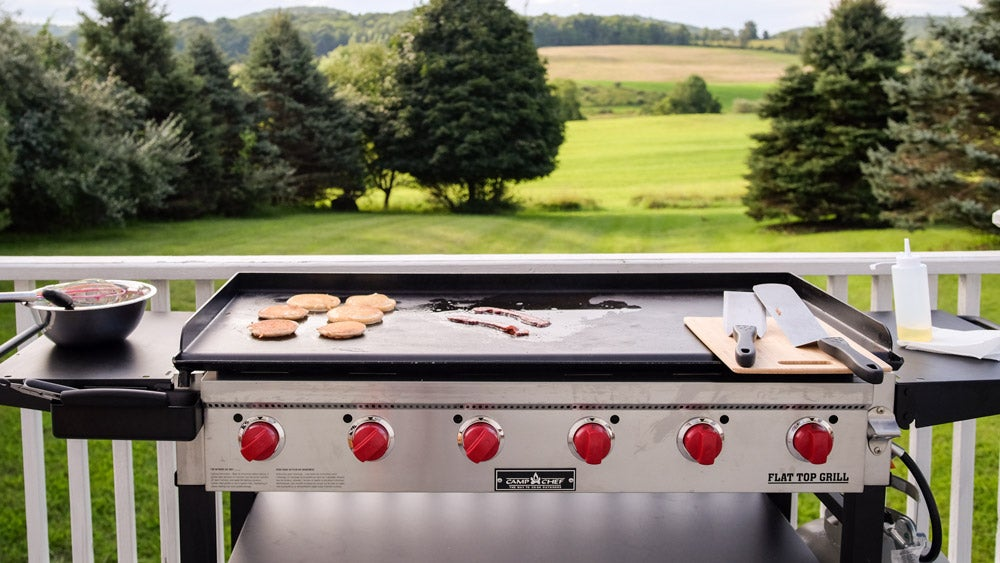 Griddle grill