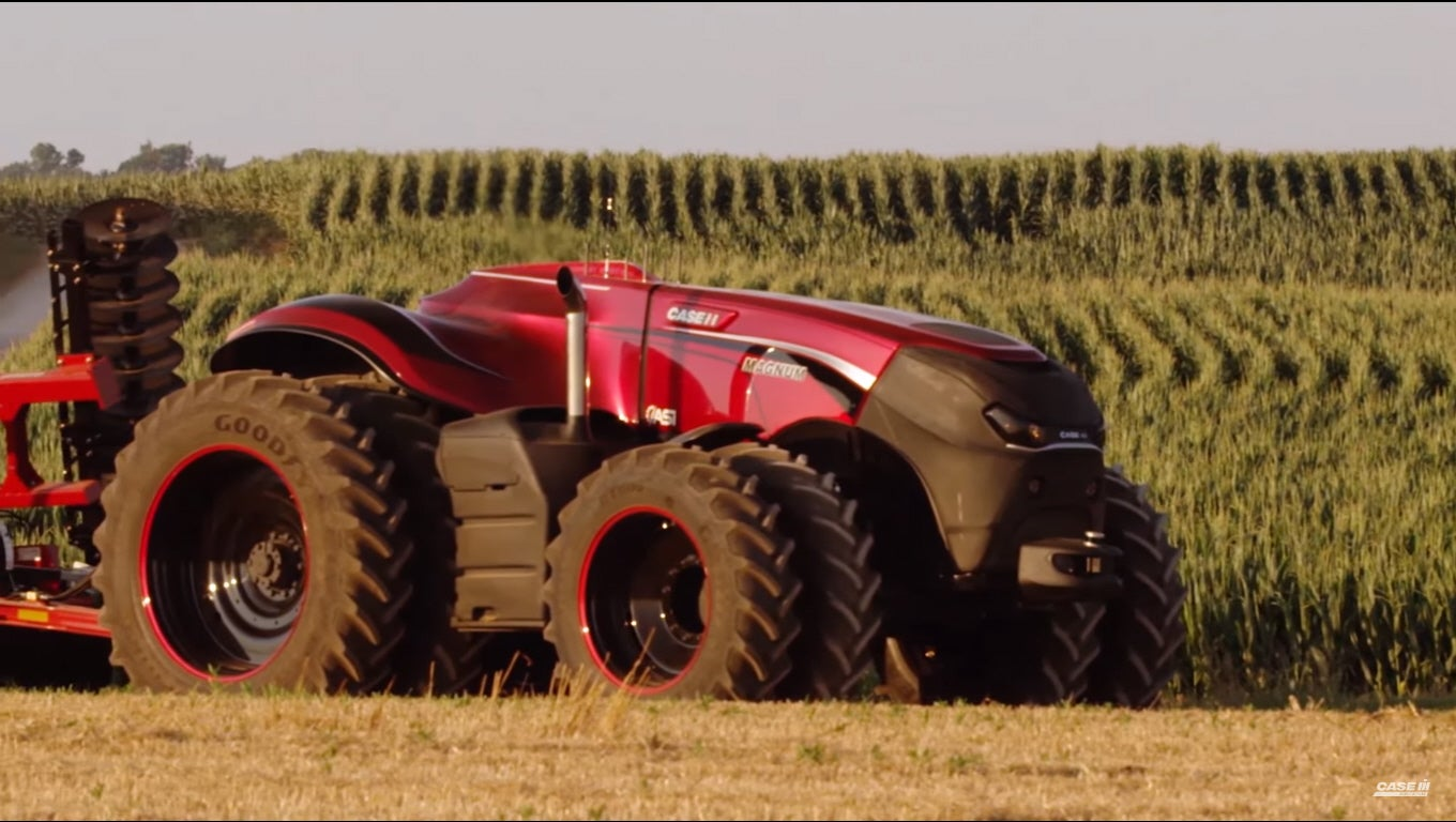 Autonomous Tractor Concept Takes The Farmers Out Of Farming