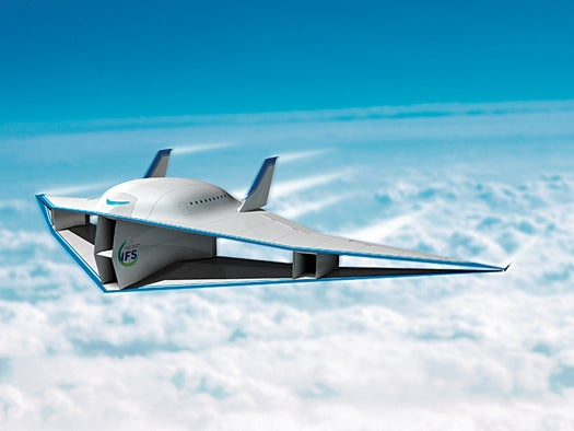 Researchers Trying to Give First Supersonic Biplane Some Lift