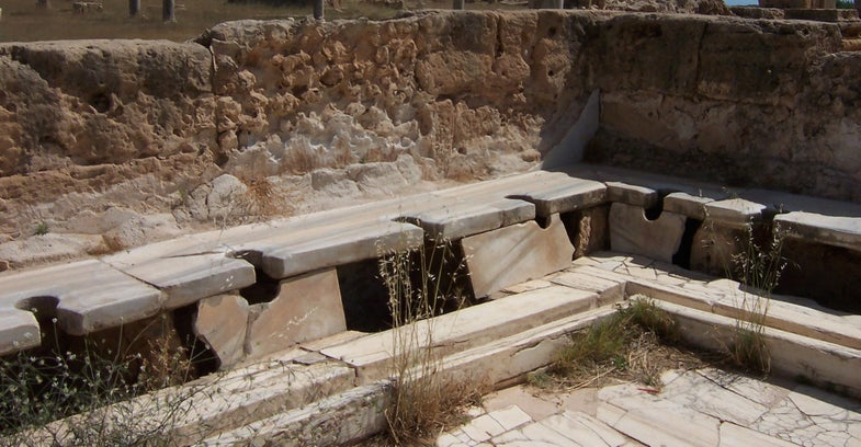 Roman Toilets Didn't Help With Hygiene