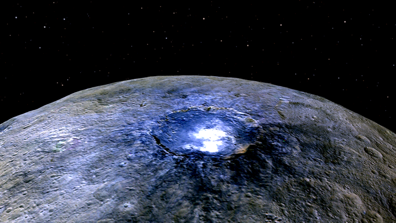 What Are Those Bright Spots On Ceres Made Of?