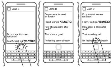 Blackberry Adds Heightened Emotion to Cell Phone Messages