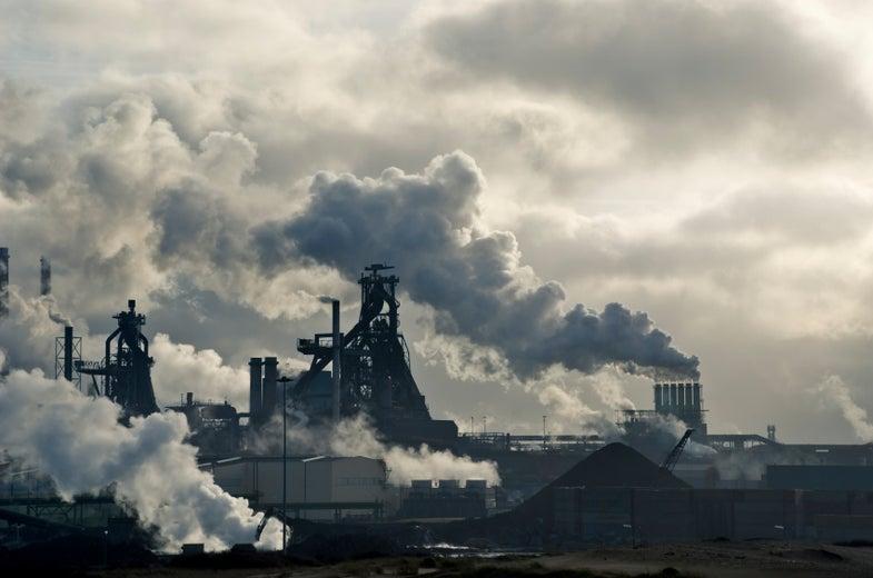 Giant Coal Plant