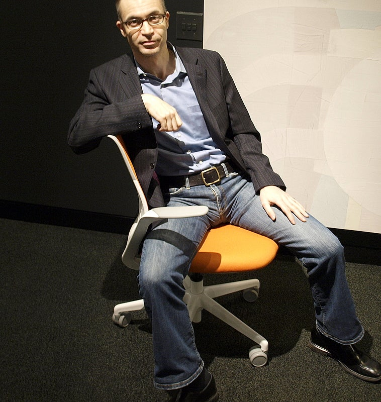 A Chair for Slouching