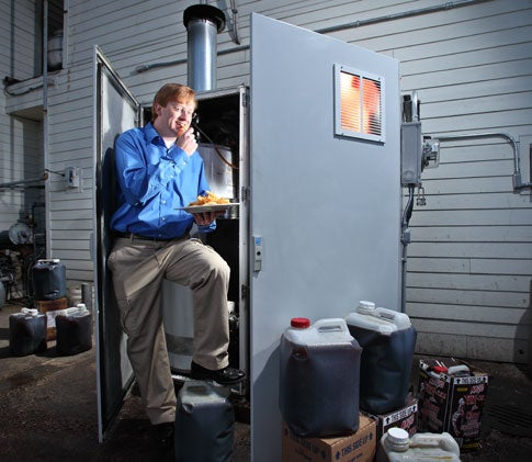 Invention Awards: A Generator That Runs on Kitchen Grease