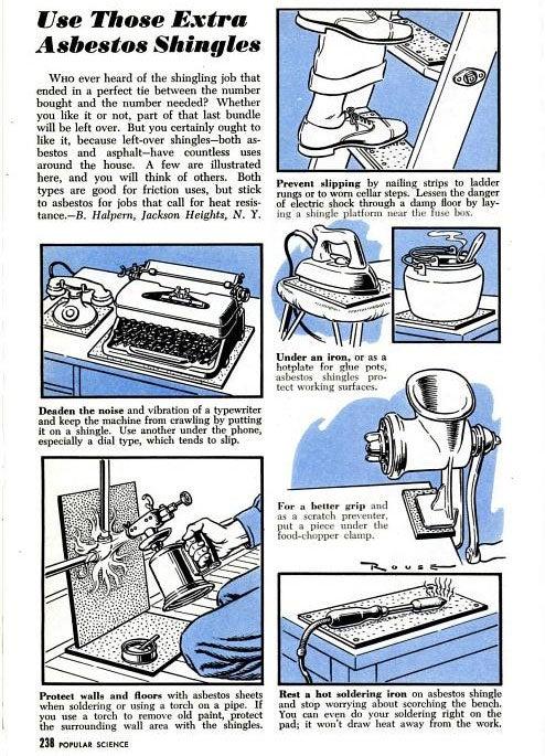 Asbestos Shingles: April 1948