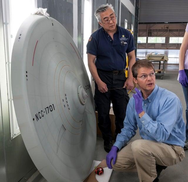 Star Trek TOS's Enterprise Prop Goes Back On Display In D.C.