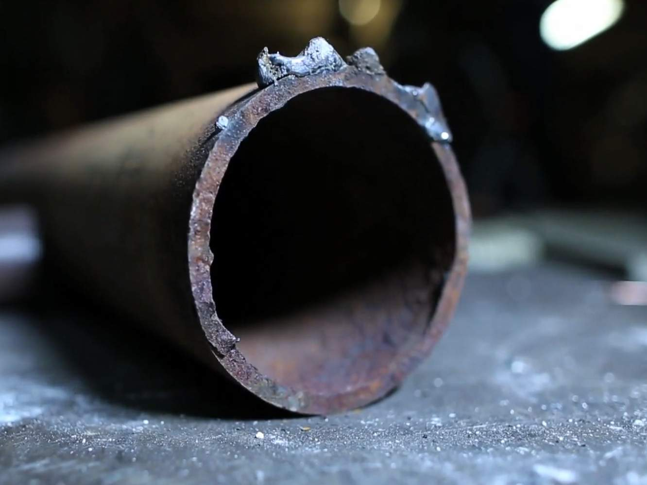 A Hack For Cutting Pipes Perfectly [Video]