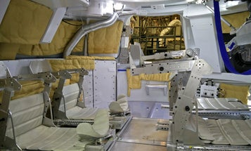 A Peek Inside The Orion Spacecraft That Will Fly Us To Mars