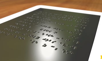 Dynamic Touchscreen Could Display In Braille