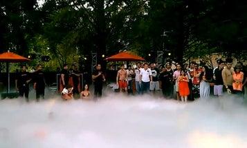 Why Having A Liquid Nitrogen Pool Party Is A Bad Idea