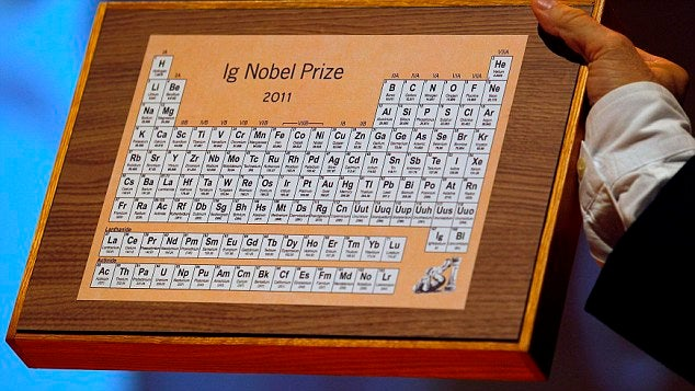 The 2011 Ig Nobel Award Winners: Wasabi Alarm Clocks, Beetle/Beer Bottle Fornication, and More Weird Science