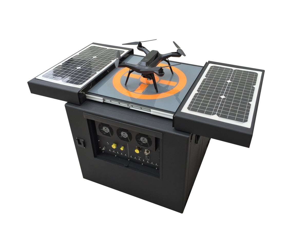 DroneBox Is A Nest For Drones