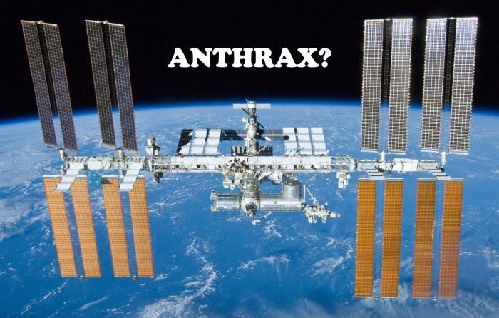 Never Mind the CDC: The Search for Anthrax on the ISS