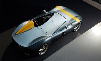 Ferrari mixed retro racing design and a V12 engine in its limited-edition Monza cars