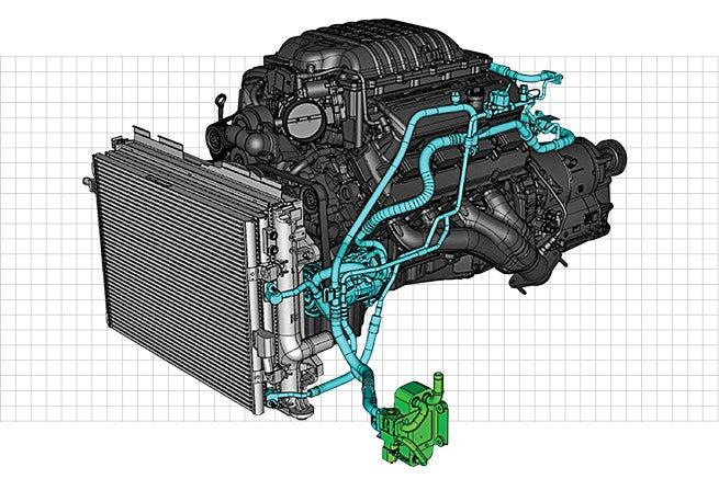 Dodge SRT power chiller