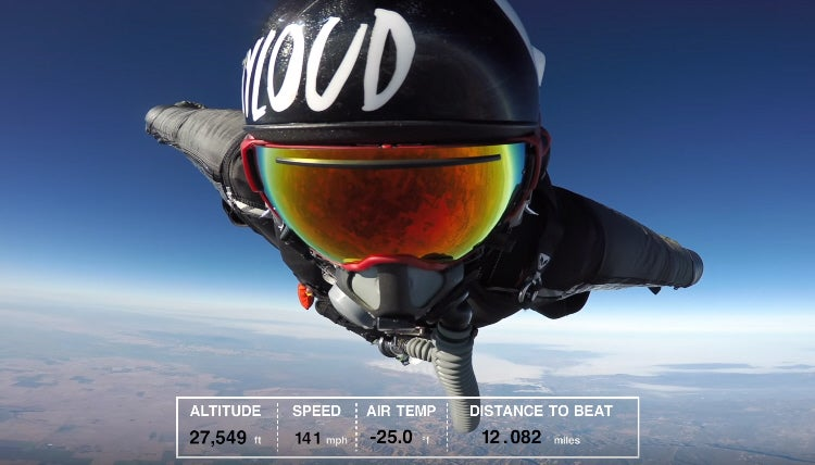 Watch A Navy SEAL Break The Wingsuit Distance Record