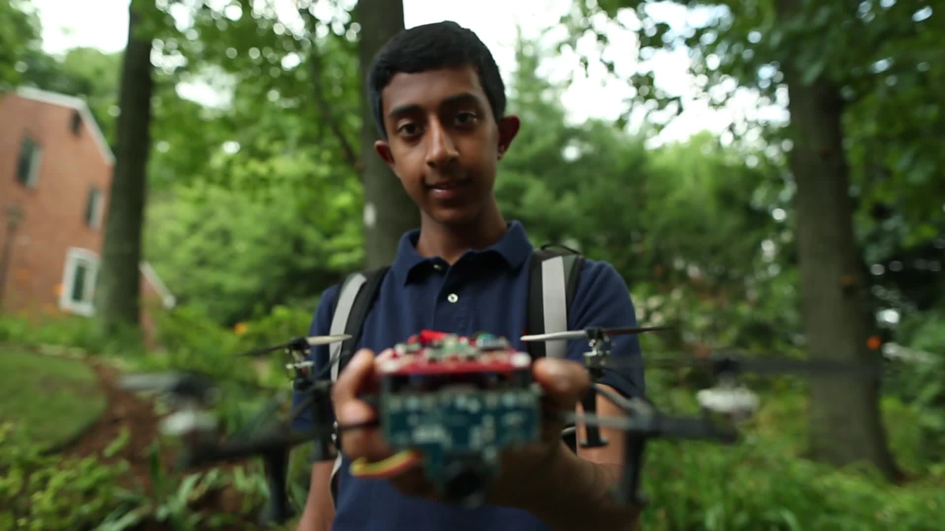 The 15-Year-Old Who Builds Drones