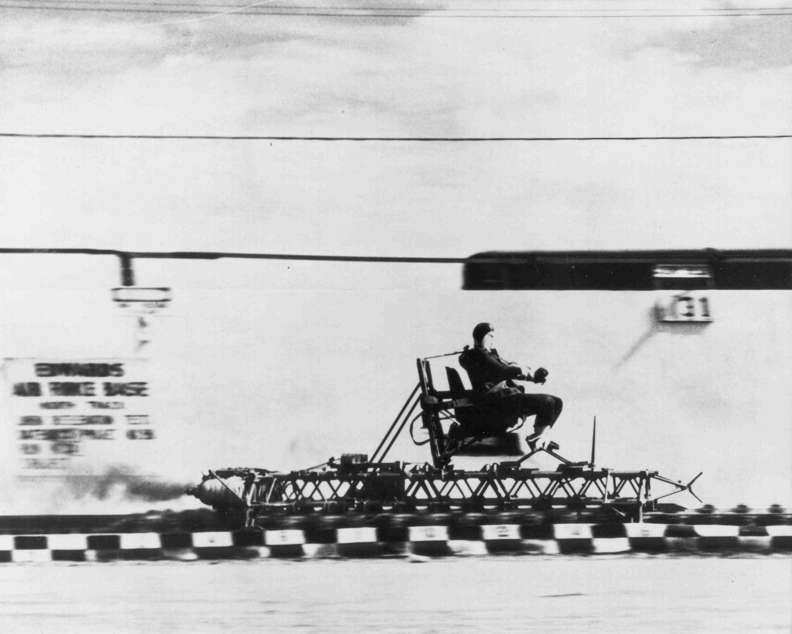 John Paul Stapp, a Real Life Rocket (Sled) Man