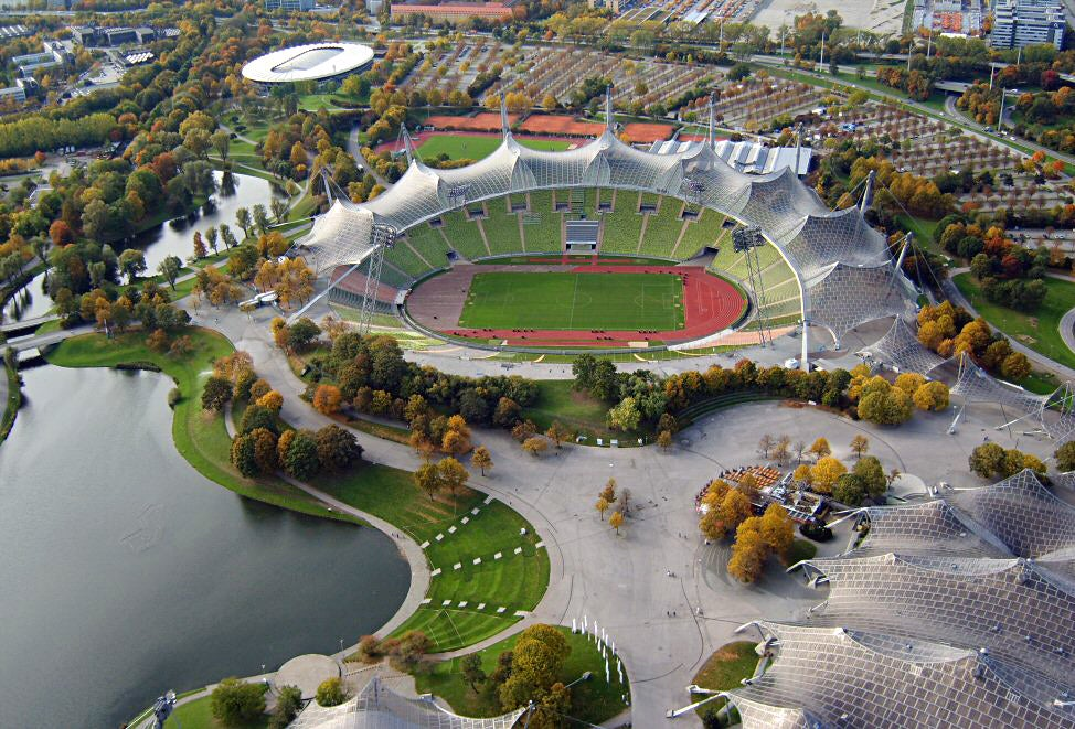 ## Olympiastadion from the 1972 Summer Olympics in Munich, Germany