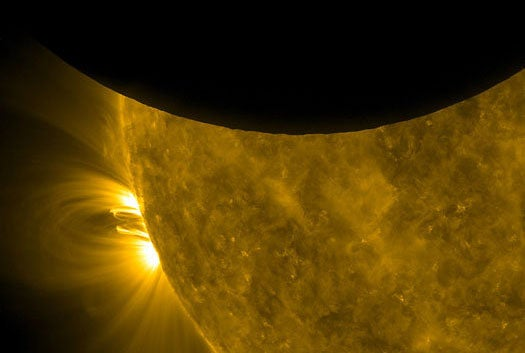 Video: Solar Dynamics Observatory Captures its First Solar Eclipse