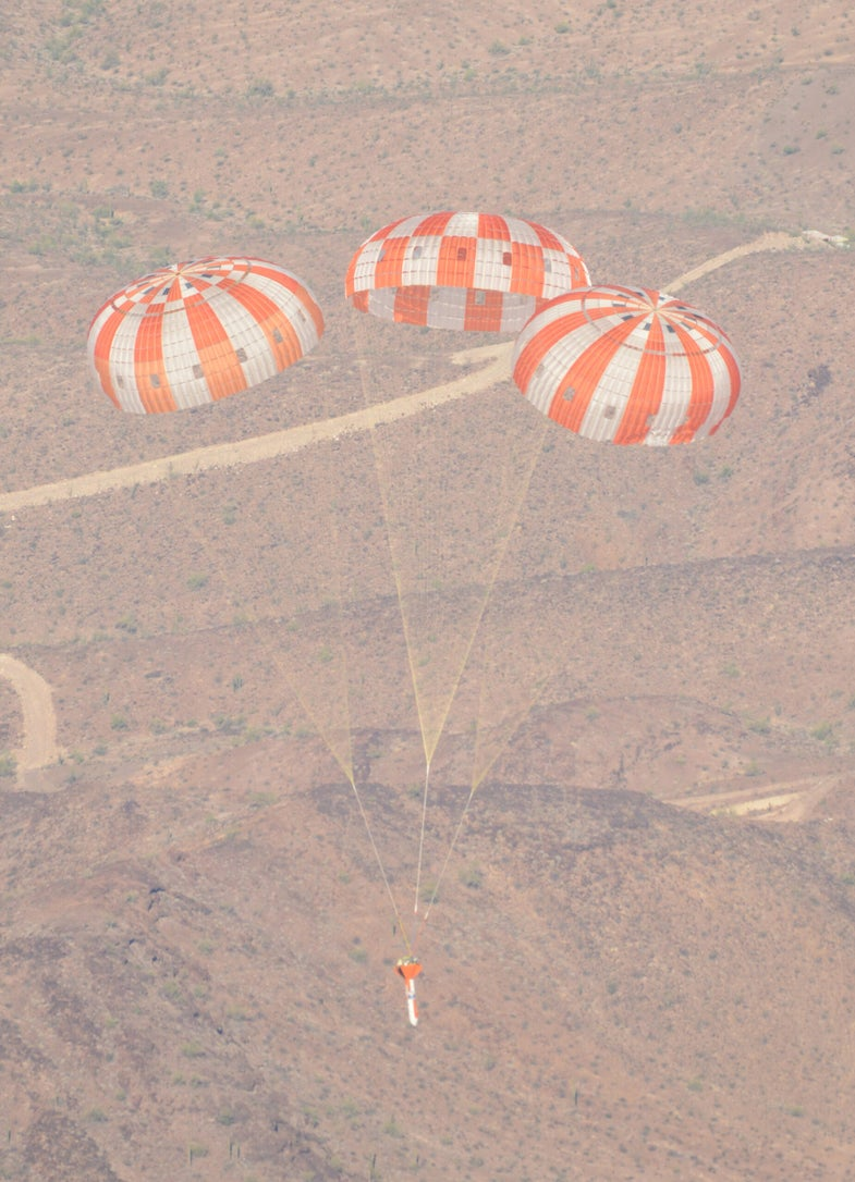 Photo of the Day: NASA Tests Gigantic Parachutes for the Next Manned Space Capsule